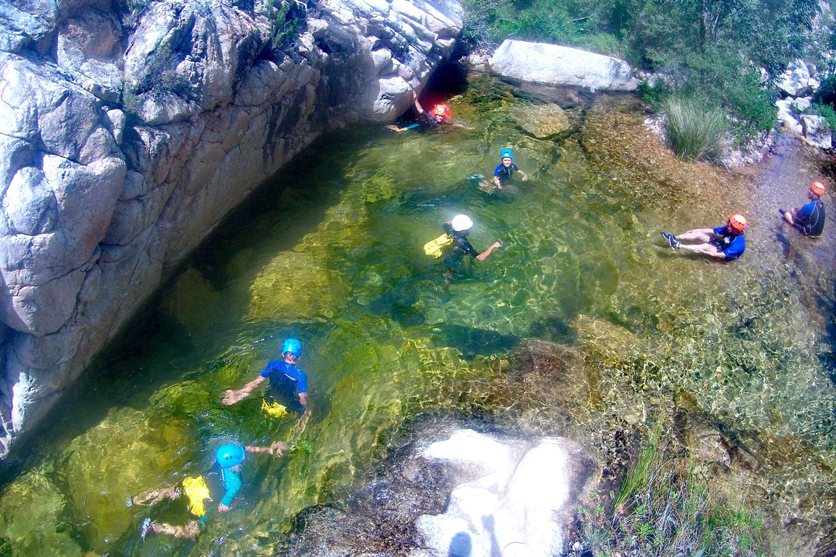 Canyoning a Pitrisconi GRuppo